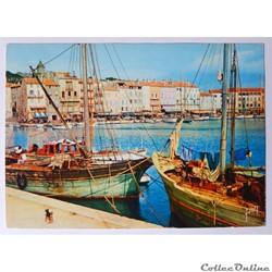 CPA du Var, Saint-Tropez, les quais
