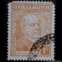 Argentine 00364 Domingo Faustino Sarmiento 1c de 1935