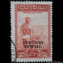 Argentine S0345 agriculture 25c de 1936