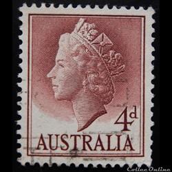 Australie 00235 Reine Elisabeth II 5c de 1957