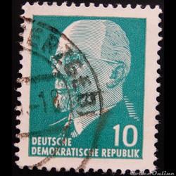 Allemagne RDA 00562 Walter Ulbricht 10pf...