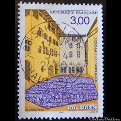 03256 Figeac - Lot Hommage à Champollion 3F