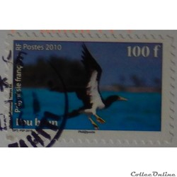 Polynésie française 00926 oiseau Fou Brun 100f de 2010