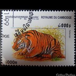 Cambodge 01694 Tigre 4000R de 1999