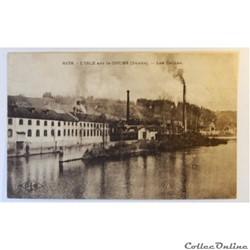 CPA du Doubs, l'Isle-sur-le-Doubs, les usines