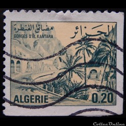 Algérie 00657A gorges d'El Kantara 0.20d...