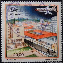 Algérie PA0023 avion au-dessus d'Annaba ...