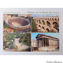 CP du Gard, Nîmes et le Pont du Gard