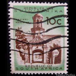 Afrique du Sud 00256 entrée du château d...