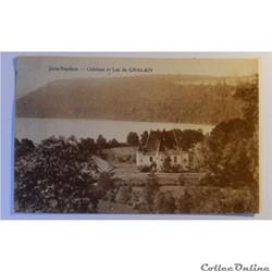 CPA du Jura, le château et le Lac Chalain