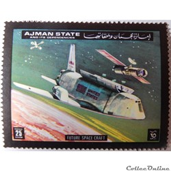 Ajman State 01302A navette spatiale 25D ...
