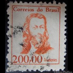 Brésil 00767 Tiradentes 200C de 1965