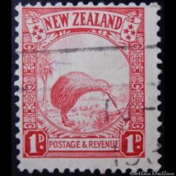 Nouvelle-Zélande 00194 Kiwi 1p de 1935