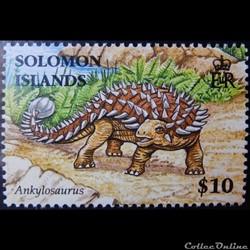 Salomon (îles) 01321 Ankylosaurus 10$ de 2006