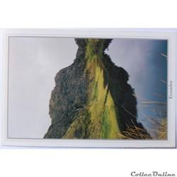 CP de l'Equateur, lagon du volcan