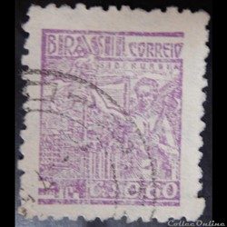 Brésil 00465D industrie de l'acier 0.60C de 1946