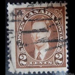 Canada 00191 roi George VI 2c de 1937