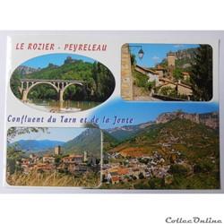 CP de Lozère, Le Rozier et de l'Aveyron, Peyreleau