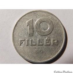 Hongrie, 10 Fillér 1979
