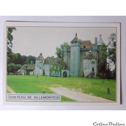 CP de la Creuse, château de Villemonteix