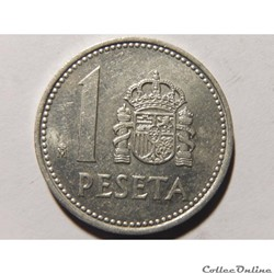 Espagne, 1 peseta de 1985