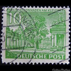 Allemagne Berlin 00033 Colonnade au Klei...
