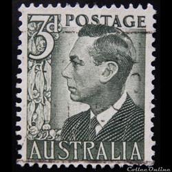 Australie 00173C Roi Georges VI 3d de 1951