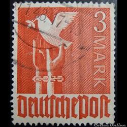 Allemagne Occupation 0051 colombe et lib...
