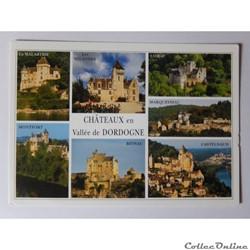 CP de Dordogne, châteaux en vallée de la Dordogne