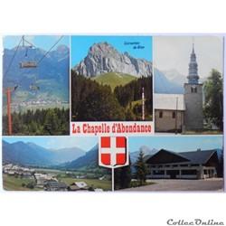 CP de Haute-Savoie, La Chapelle d'Abonda...