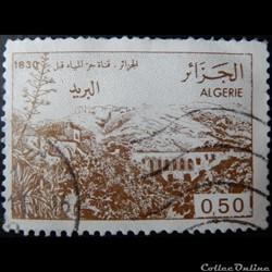 Algérie 00824 vue d'un aqueduc près d'Al...
