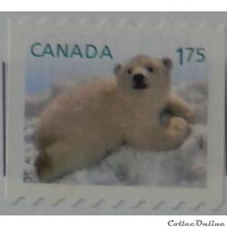 Canada 02573 Ours blanc 1.75$ de 2011