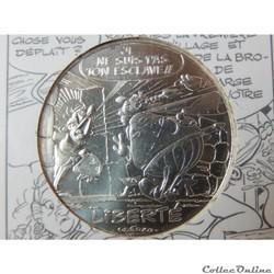 10 euros, Astérix et liberté Bonemine 20...