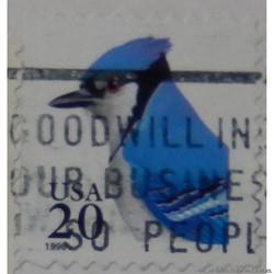 Etats Unis 02532 Geai bleu 20c de 1996