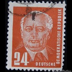 Allemagne RDA 00007 président Wilhelm Pi...