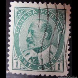 Canada 00078 roi Edward VII 1c de 1903