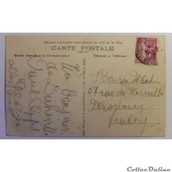 carte postale france lorraine cpa de meurthe et moselle luneville