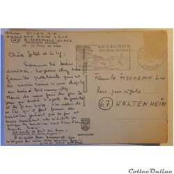 carte postale france aquitaine cpa de gironde arcachon