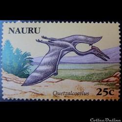 Nauru 00588 Quetzalcoatlus 25c de 2006