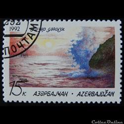 Azerbaïdjan 1992 Mer Caspienne 15k