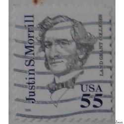 Etats Unis 02920 Justin S. Morrill 55c d...