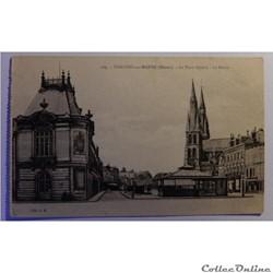 CPA de la Marne, Chalons-sur-Marne, la place Godart