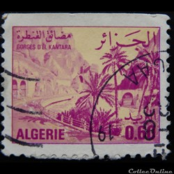 Algérie 00658A gorges d'El Kantara 0.60d...