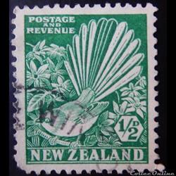 Nouvelle-Zélande 00193 Ripidure à collier 1/2p de 1935