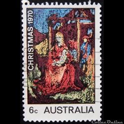 Australie 00425 William Beasley la naissance du Christ 6c de 1970
