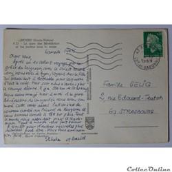 carte postale france limousin cpa de haute vienne limoges