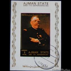 Ajman State 02894AwBL Joseph Joffre, mar...