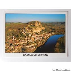 CP de Dordogne, Beynac, le château