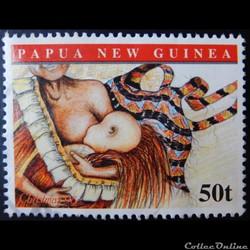 Papouasie-Nouvelle-Guinéd 00841 allaitement 50t de 1998