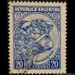 Argentine 00511 élevage de bovins 20c de 1951